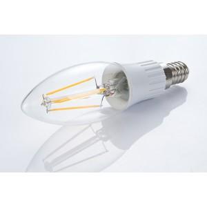 LED žiarovka E14 C35-LED FILAMENT BULB 4W