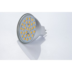 LED žiarovka MR16 30 SMD 2835 5W
