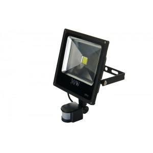 LED reflektor 30W WW + senzor pohybu
